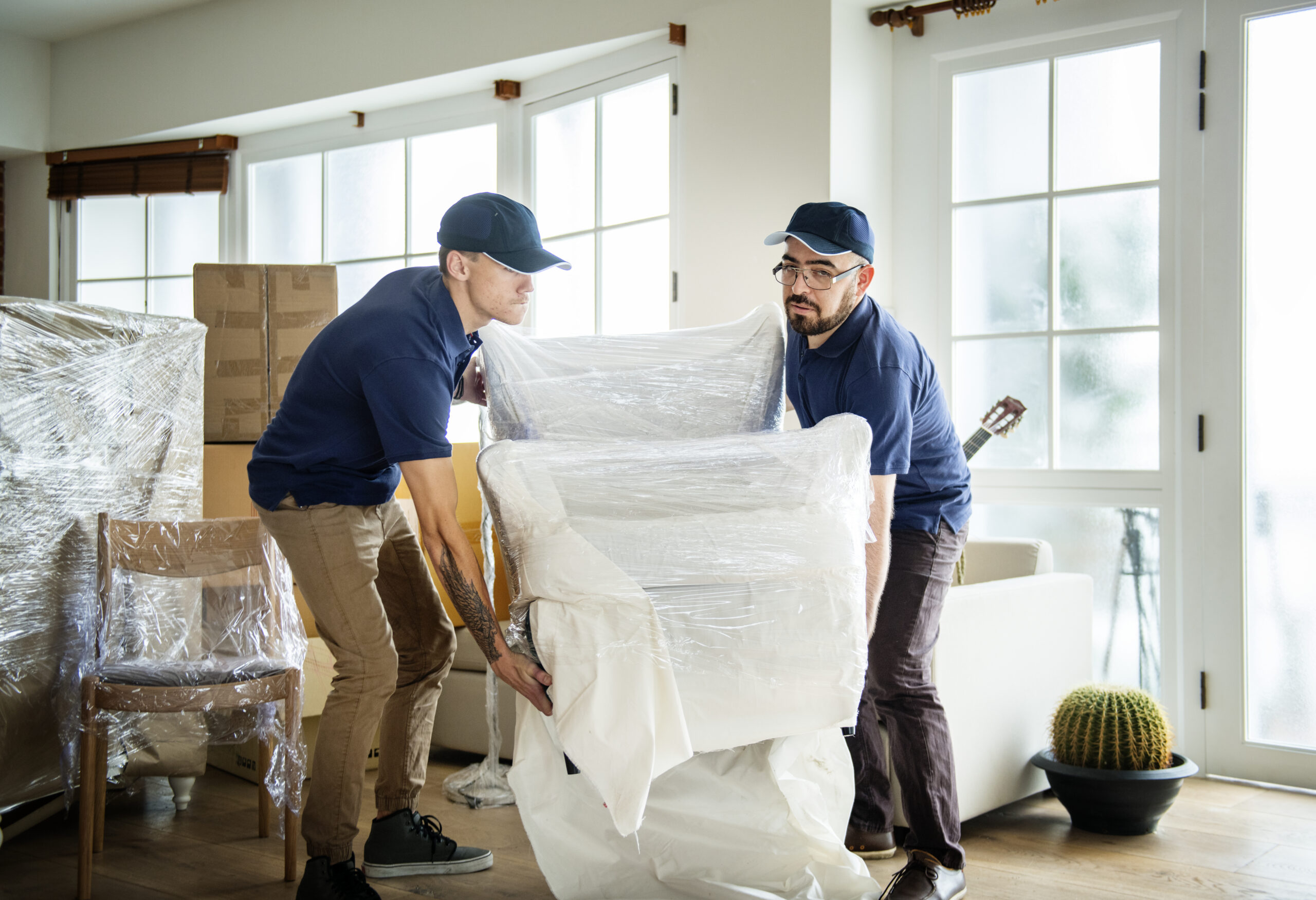 professional packing and moving services