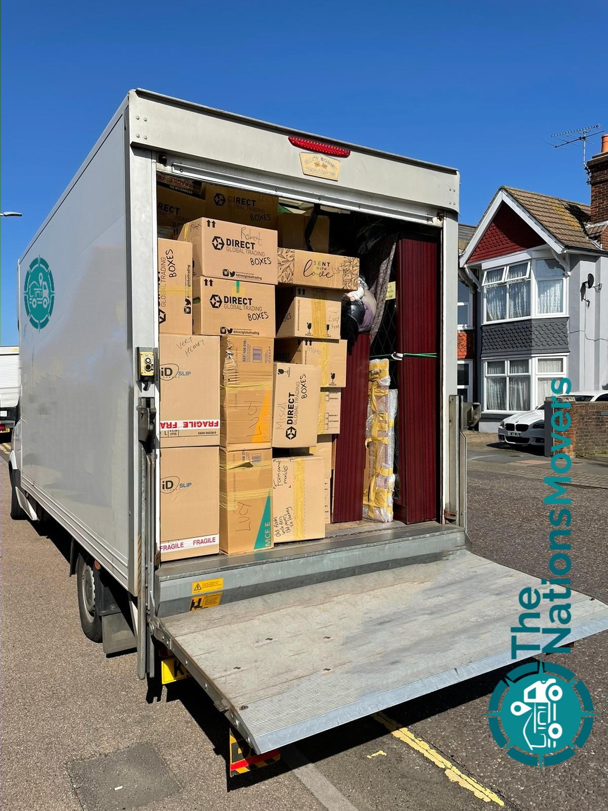 professional packers and movers in London